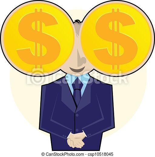 I See Money - csp10518045
