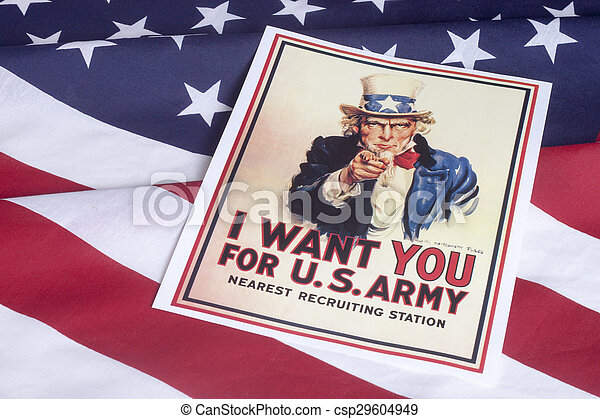 I want you - Uncle Sam - csp29604949