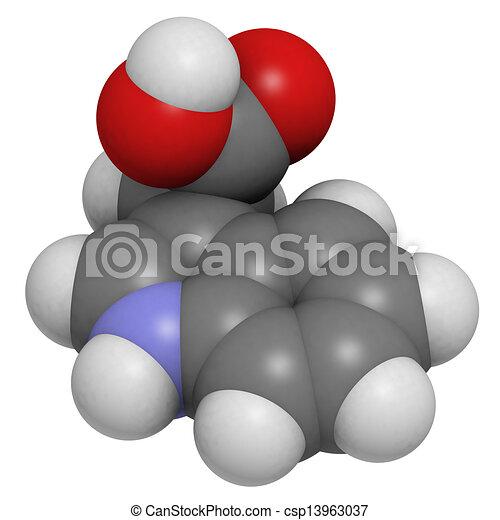 iaa plante hormone indole 3 acetic molecula croissance acide auxin white couleur. Black Bedroom Furniture Sets. Home Design Ideas