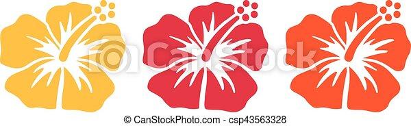 Fiori Hawaiani Disegni.Ibisco Fiori Hawaiano Fiori