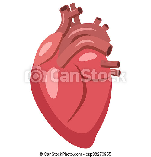 Ic ne coeur style dessin anim humain style ic ne - Dessin coeur humain ...
