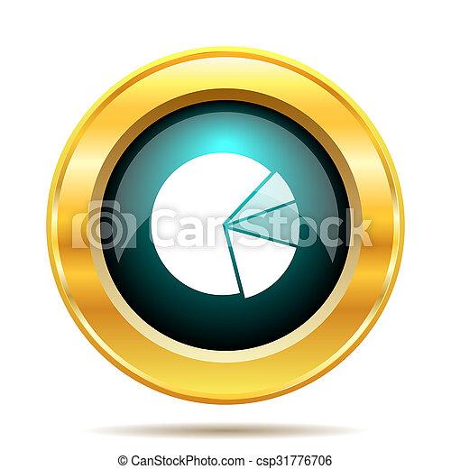 icône, diagramme, tarte - csp31776706