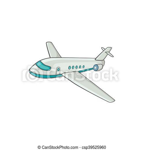 Ic ne passager style avion ligne dessin anim style - Dessin avion stylise ...