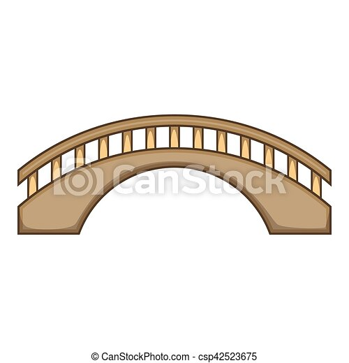 Icone Pont Style Rond Dessin Anime Pont Toile Illustration Rond Vecteur Conception Icon Dessin Anime Icone Canstock