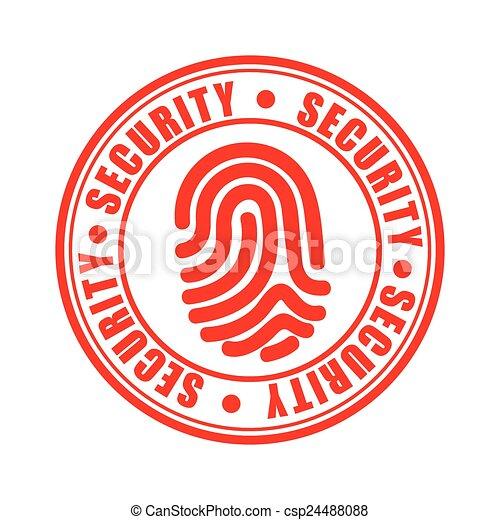 icône, sécurité - csp24488088