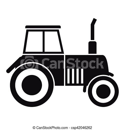 Icône Simple Style Tracteur