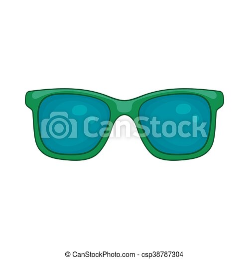 Icone Style Dessin Anime Lunettes