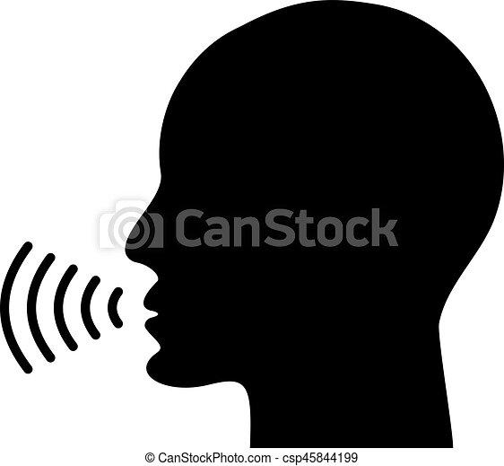 icône, voix, conversation - csp45844199
