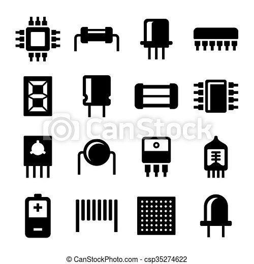 logo composant electronique