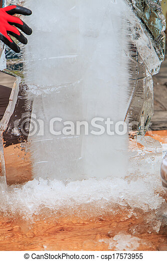 Ice carving - csp17573955