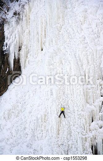 ice climbing - csp1553298
