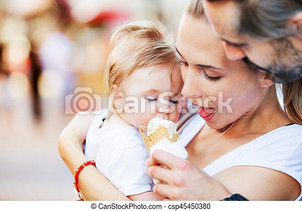 Ice cream baby - csp45450380