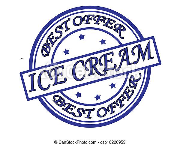 Ice cream - csp18226953
