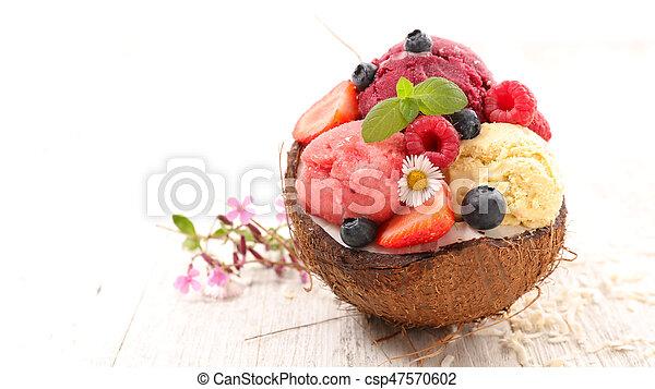 ice cream - csp47570602