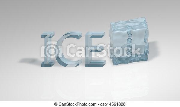 Ice cube - csp14561828