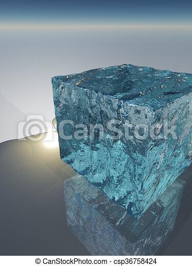 Ice Cube - csp36758424