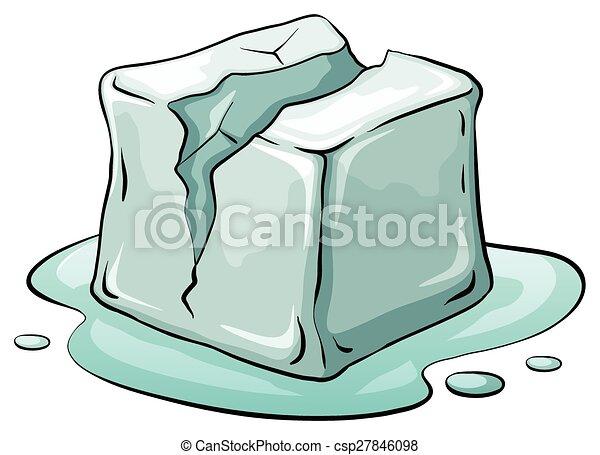 Ice cube - csp27846098