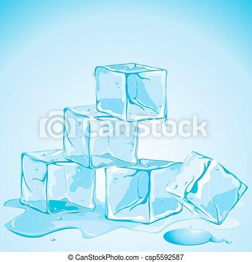 Ice Cubes - csp5592587