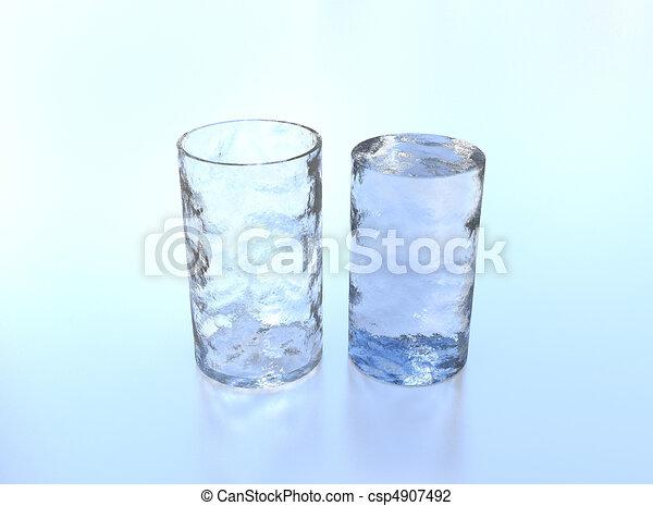Ice glass - csp4907492