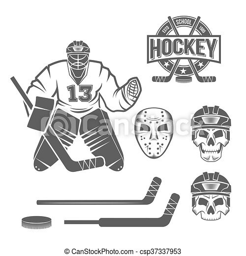Ice Hockey Goalie Elements Hockey Goalie Elements Skull Helmet