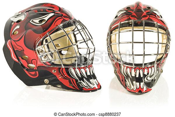 Ice Hockey Goalie Mask Ice Hockey Goalie Mask Devil