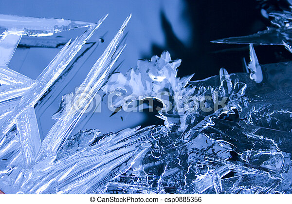 Ice on Water - csp0885356