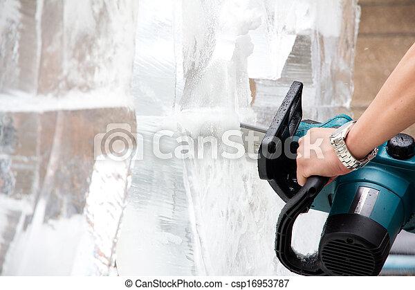 Ice Sculpture Carving - csp16953787