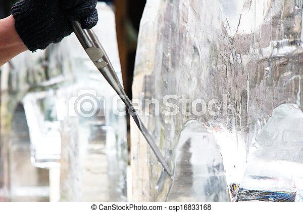 Ice Sculpture Carving - csp16833168