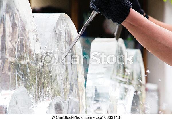 Ice Sculpture Carving - csp16833148
