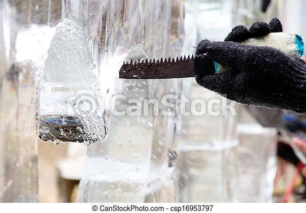 Ice Sculpture Carving - csp16953797