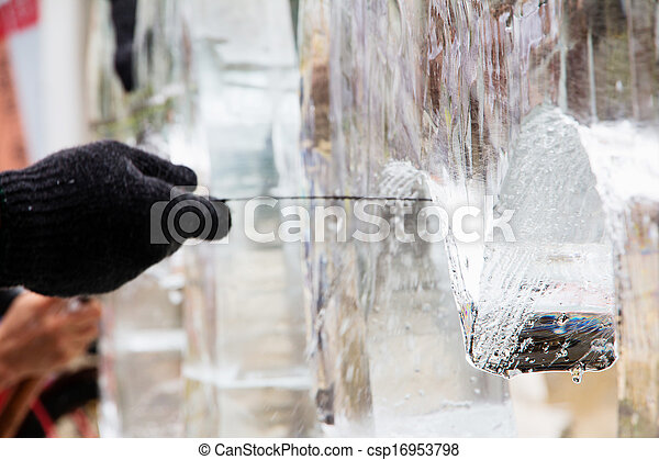 Ice Sculpture Carving - csp16953798
