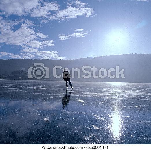 Ice skater - csp0001471