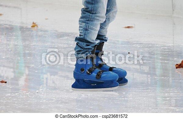 ice skater - csp23681572