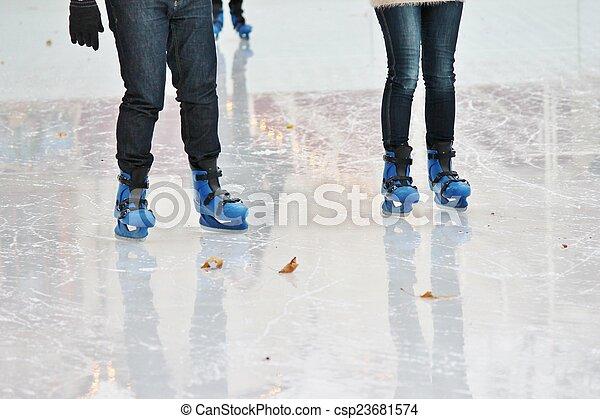 ice skater - csp23681574