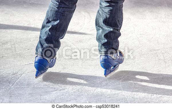 ice skater - csp53018241