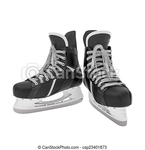 ice skates - csp23401873