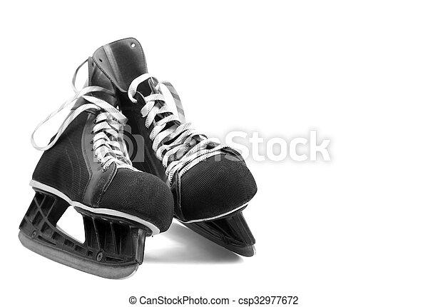 Ice skates - csp32977672