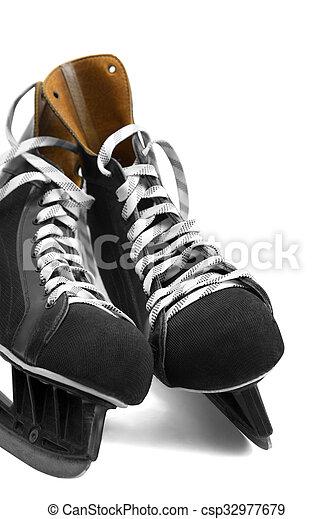 Ice skates - csp32977679