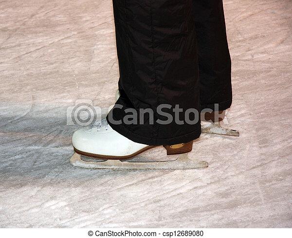 Ice Skates - csp12689080