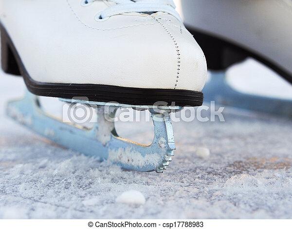 Ice Skates - csp17788983