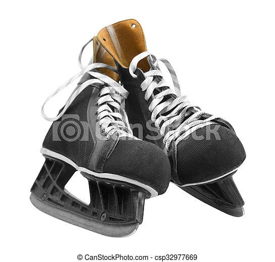 Ice skates - csp32977669