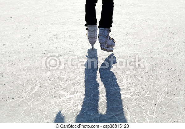 Ice Skates - csp38815120