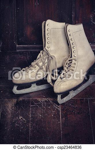Ice Skates - csp23464836