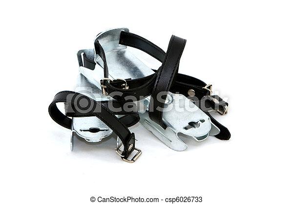 Ice skates - csp6026733