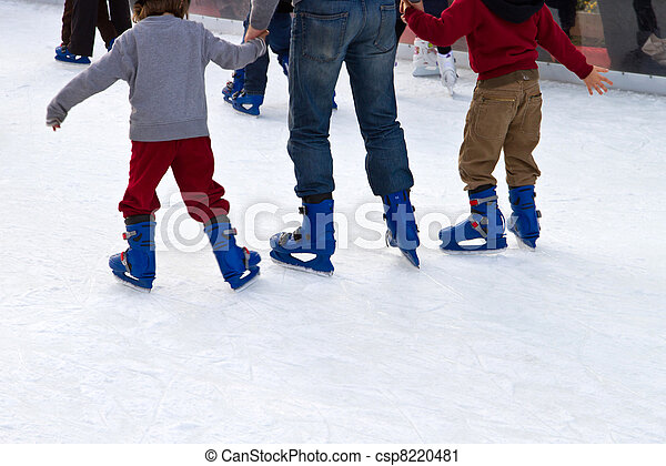 ice skating - csp8220481