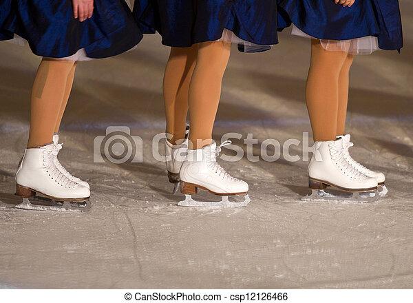 ice skating  - csp12126466