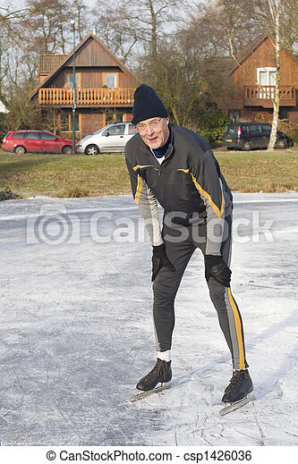 Ice skating - csp1426036