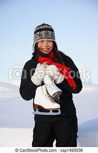 ice skating - csp1493036
