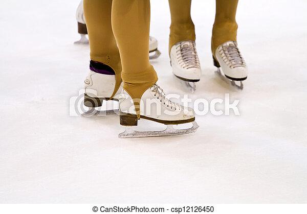 ice skating  - csp12126450
