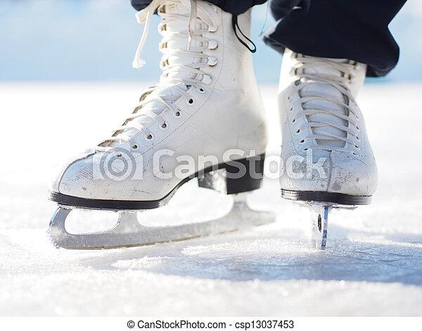 Ice Skating - csp13037453